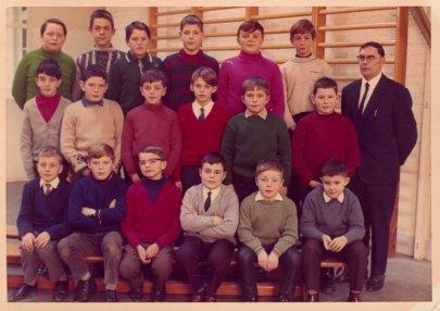 classe de Rumes en 1970