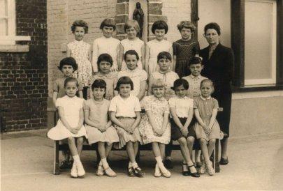 Ecole des filles 1959