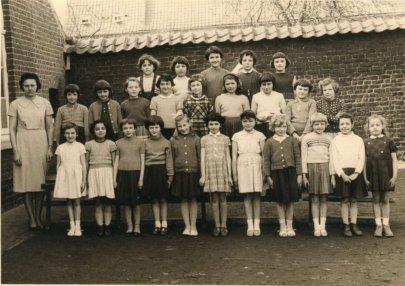 Ecole primaire des Filles de rumes en 1963