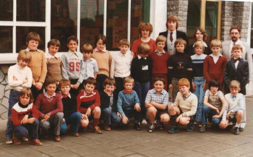 classes rumes 1980 5eme primaire