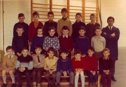 ecole classe de Rumes 1970 1971
