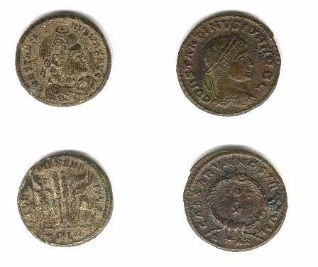 monnaies de Constantin