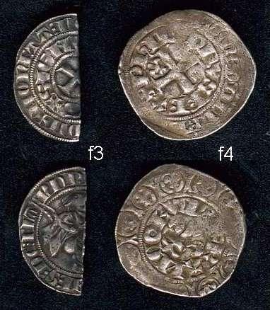 monnaies féodales trouvées à Rumes