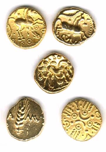 monnaies gauloises