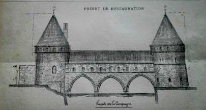 pont des trous Tournai