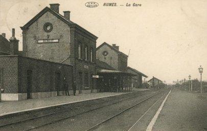 La gare de Rumes