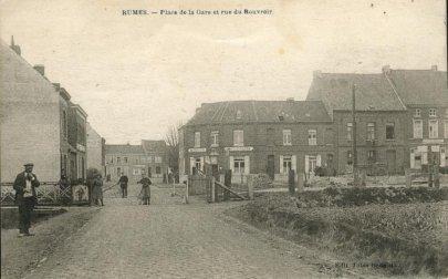 Rue du Rouvroir à Rumes