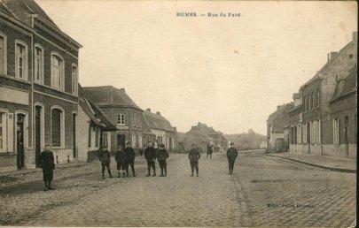 Rumes rue du pavé