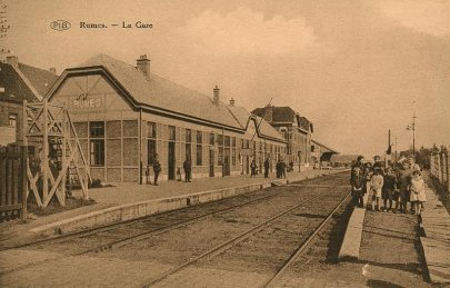 Rumes , la gare
