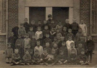 Ecole de Rumes 1922 photo de classe
