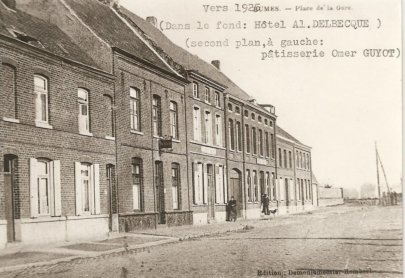 place de la gare 1925