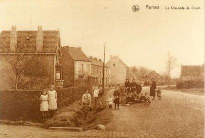 La chaussée vers 1900