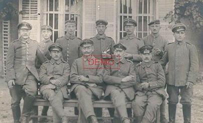 chateau de Taintignies 1916 Rumes , La Glanerie 1914 1918 Tournai